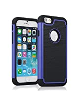 KAYSCASE Heavy Duty Cover Case TurtleBox for Apple iPhone 6 - Blue