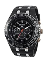 Exotica Black Dial Analogue Watch for Men (EF-01-Black-PL)