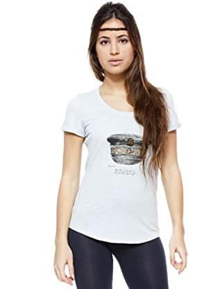 Ikks Camiseta Print (gris)