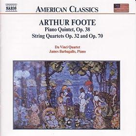 String Quartet No. 3 in D major, Op. 70: IV. Andante esspressivo - Allegro non troppo, marcato