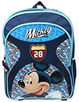 Mickey School Bag Motor Club, Multi Color (18-inch)