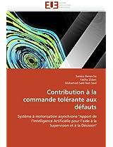 Contribution a la Commande Tolerante Aux Defauts (Omn.Univ.Europ.)