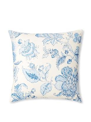 The Pillow Collection Yette Toile Decorative Pillow (Porcelain)