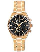 Giordano Chronograph Black Dial Men's Watch - GX1577-99