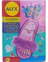 Alex Foot Notes Activity Set