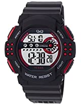 Q&Q Regular Digital White Dial Men's Watch - M128J001Y