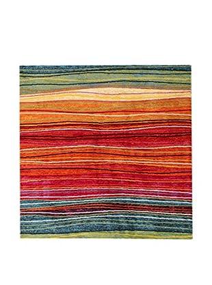 ABC Tappeti Alfombra Gioia Verde/Multicolor 200 x 290 cm