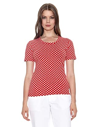 Jackpot T-Shirt Camille (Rosso Pois)