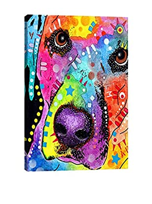Dean Russo Closeup Labrador Gallery Wrapped Canvas Print