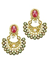 Ethnic Indian Bollywood Jewelry Set Traditional Fashion Imitation EarringsPREA0001MG