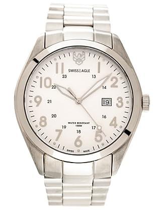 Swiss Eagle Reloj Field Scout blanco