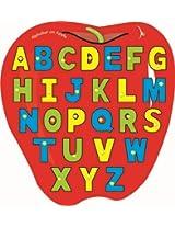Kinder Creative-KCL-16-Alphabet on Apple(Multicolour)