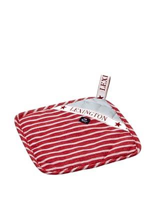 Lexington Company Agarrador Rayas (Rojo / Blanco)