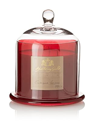 Apothecary Guild Large Candle Jar with Glass Dome, Crimson Leaves Scent
