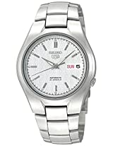 Seiko Men's SNK601 Seiko 5 Automatic Silver Dial Stainless Steel Bracelet Watch