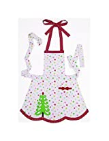 Christmas Apron | Christmas Tree Apron | Peking