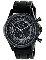 Akribos XXIV Men's AK532BK Conqueror Analog Display Swiss Quartz Black Watch