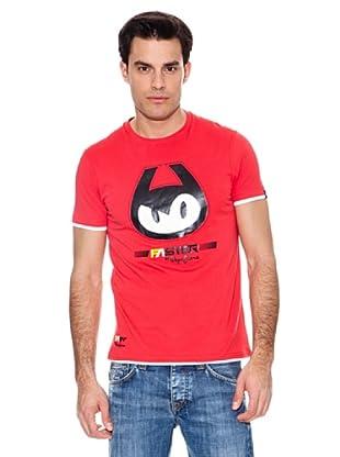Pepe Jeans London Camiseta Pit Walk (Rojo)