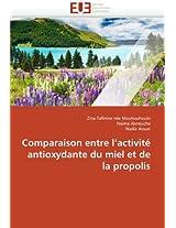 Comparaison Entre L Activite Antioxydante Du Miel Et de La Propolis (Omn.Univ.Europ.)