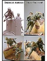 Evolution Miniatures 1:35 American Marines In Fight Vietnam Figure #Em 35035