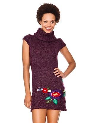 Desigual Jersey Uva (Púrpura)
