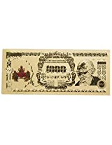 Varanasi Enterprises Lakshmi Ganesh Saraswati Gold Foil Currency Note For Enhancement Of Wealth Gift
