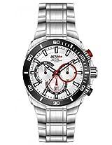 Westar Analog Silver Dial Men's Watch 9786SBN207