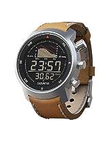 Suunto Elementum Ventus Sports Watch, Brown Leather