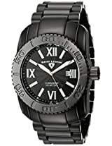 Swiss Legend Men's 10059-BB-11 Commander Collection Black Ion-Plated Stainless Steel Watch