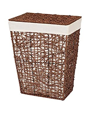 Creative Bath Directions Hamper, Brown