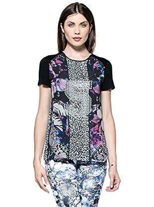 Annarita N Camiseta Corta (Multicolor)