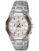 Casio Edifice Chronograph White Dial Men's Watch - EF-540D-7AVDF (ED373)
