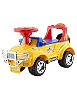 Delia Baby Summer Time Rideon, Yellow