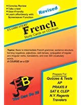 Exambusters French Study Cards (Ace's Exambusters Study Cards)