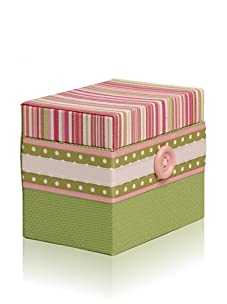 Molly West Princess - Hinged Box, Pink/Green
