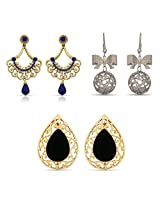 Fancy Designer Wear Beautiful Earrings for Women Combo-2250