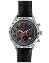 Maxima Attivo Chronograph Black Dial Men's Watch - 24151LMGI