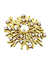Artpalace CZ Collection Silver Gold Plated Pendant For Women