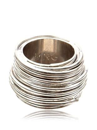 Mango Ring Metall (silber)