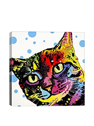Dean Russo The Pop Cat Gallery Wrapped Canvas Print