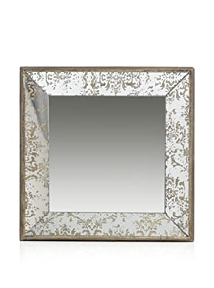 Tray Mirror (Silver Aged Gold)