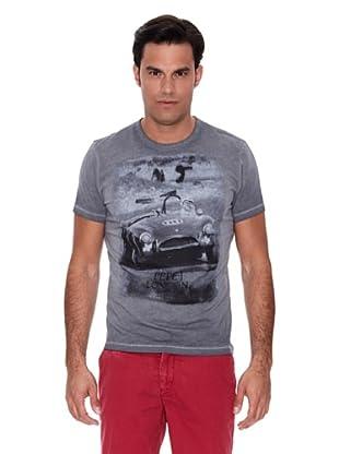 Pepe Jeans London Camiseta Pegasus (Gris Oscuro)
