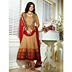 Ayesha Takia Ankle Length Golden Anarkali Suit