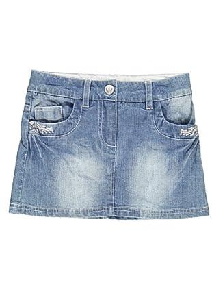 Falda Denim 5 Tasche (Azul)