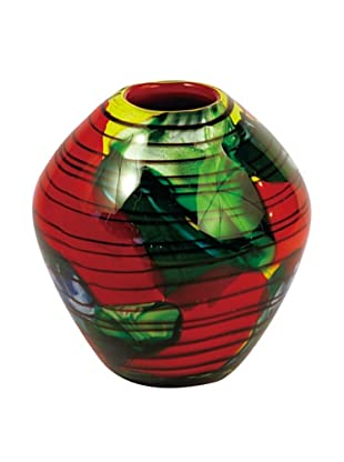 La Meridian Multi-Color Hand Blown Glass Bowl
