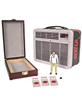 Dexter SDCC 2013 San Diego Comic-Con Exclusive 3 3/4 Inch Action Figure, Tin Tote Blood Slide Box