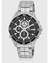 Efr-547D-1Avudf Silver/Black Chronograph Watch Casio