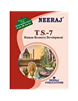 TS7-Human Resource Development (IGNOU help book for TS-7 in English Medium)