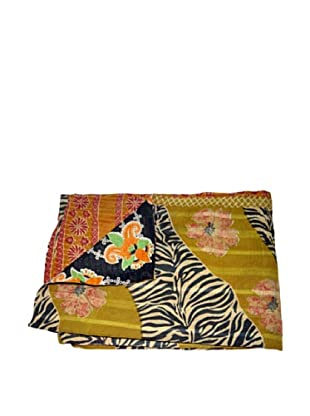 Vintage Kantha Throw Gowri, Multi, 60