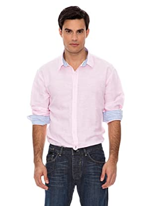Springfield Camisa Lino (Rosa)